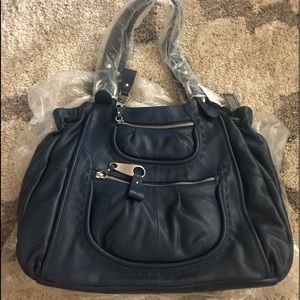 B. MAKOWSKY Leather Palermo Tote